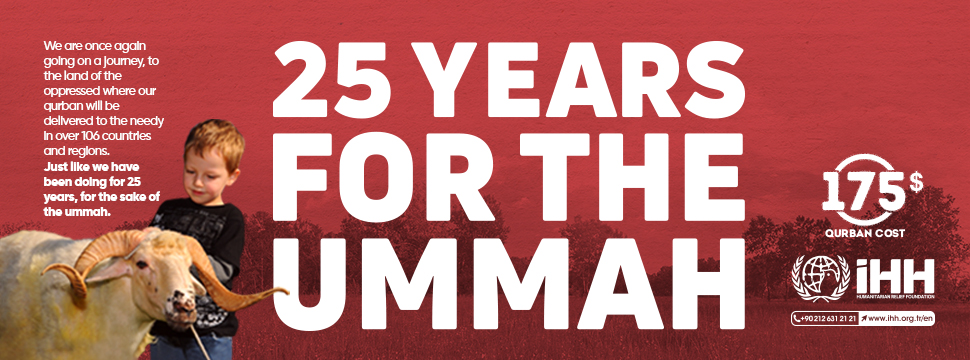 IHH-Udhiyah to the Ummah for 25 years