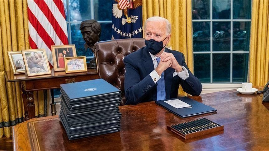 Imperialist words from Biden on first visit: