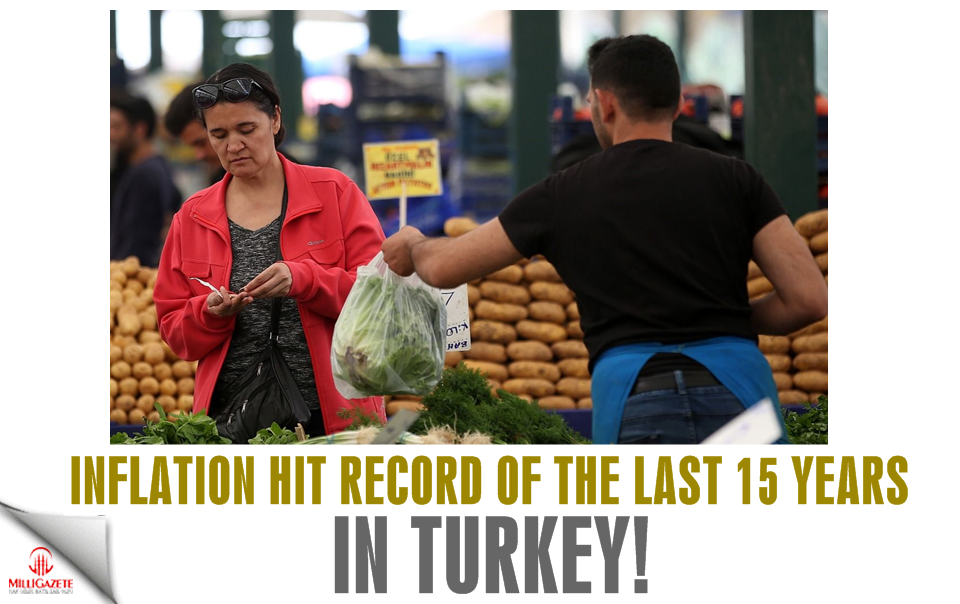 Inflation hit record of the last 15 years in Turkey!