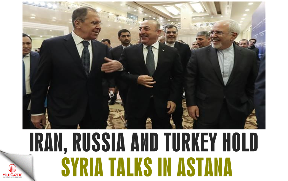 Iran, Russia and Turkey hold Syria talks in Astana