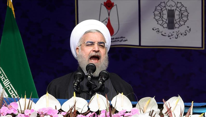 Iranian president Rouhani rejects US threats