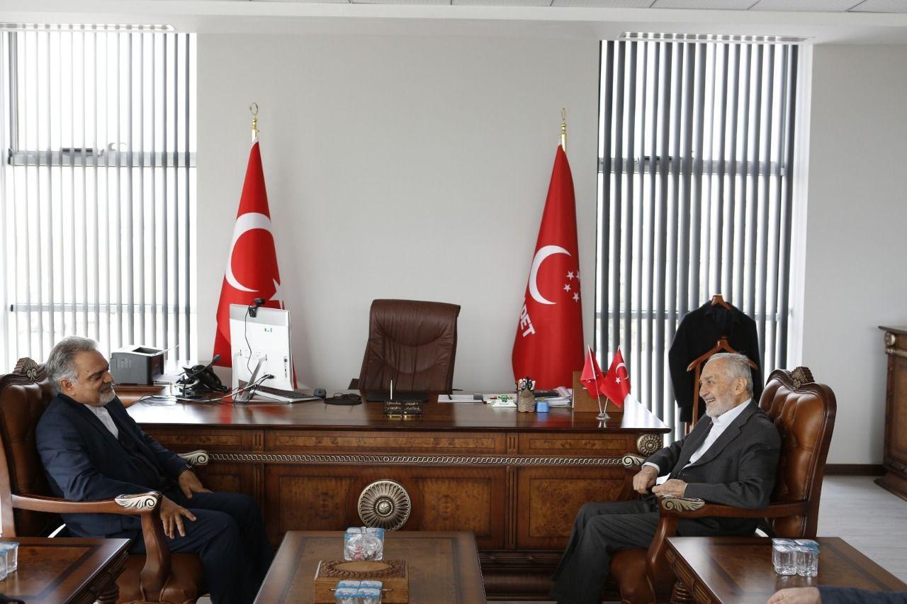 Iran's Ambassador to Ankara Farazmand visits Asiltürk