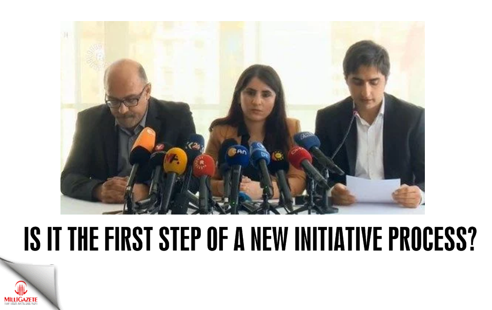 Is it the first step of a new initiative process?