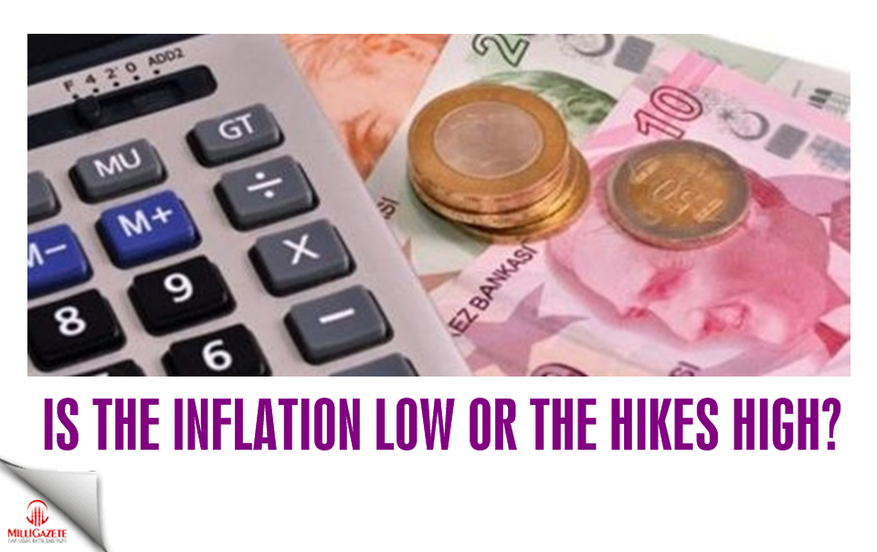 Is the inflation low or the hikes high?