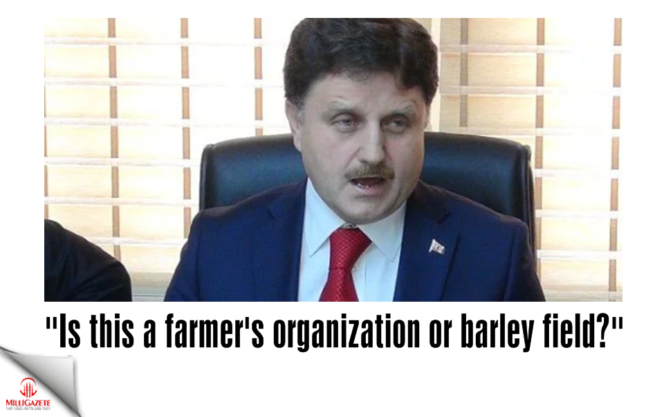 """Is this a farmers organization or barley field?"""
