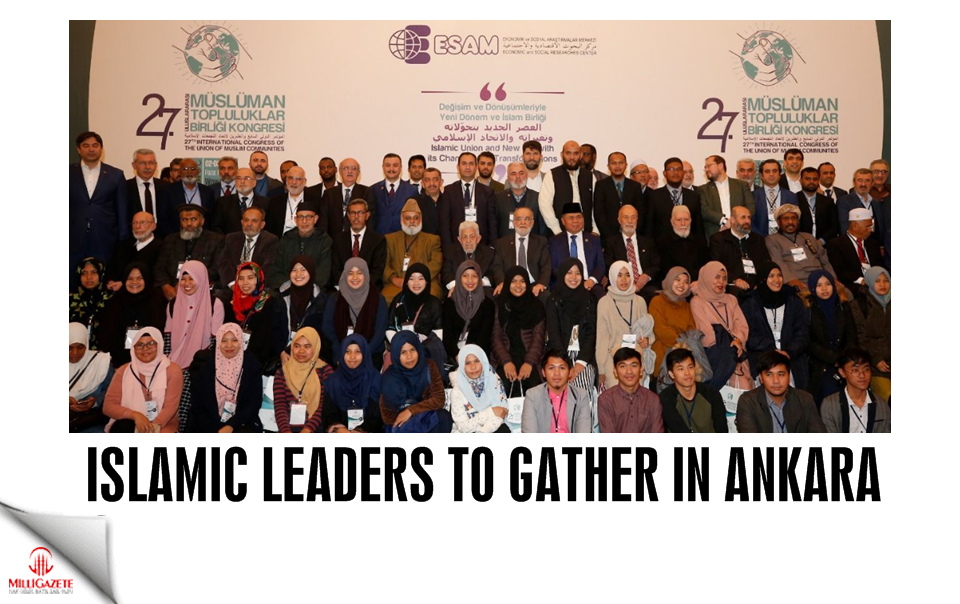 Islamic Leaders to gather in Ankara