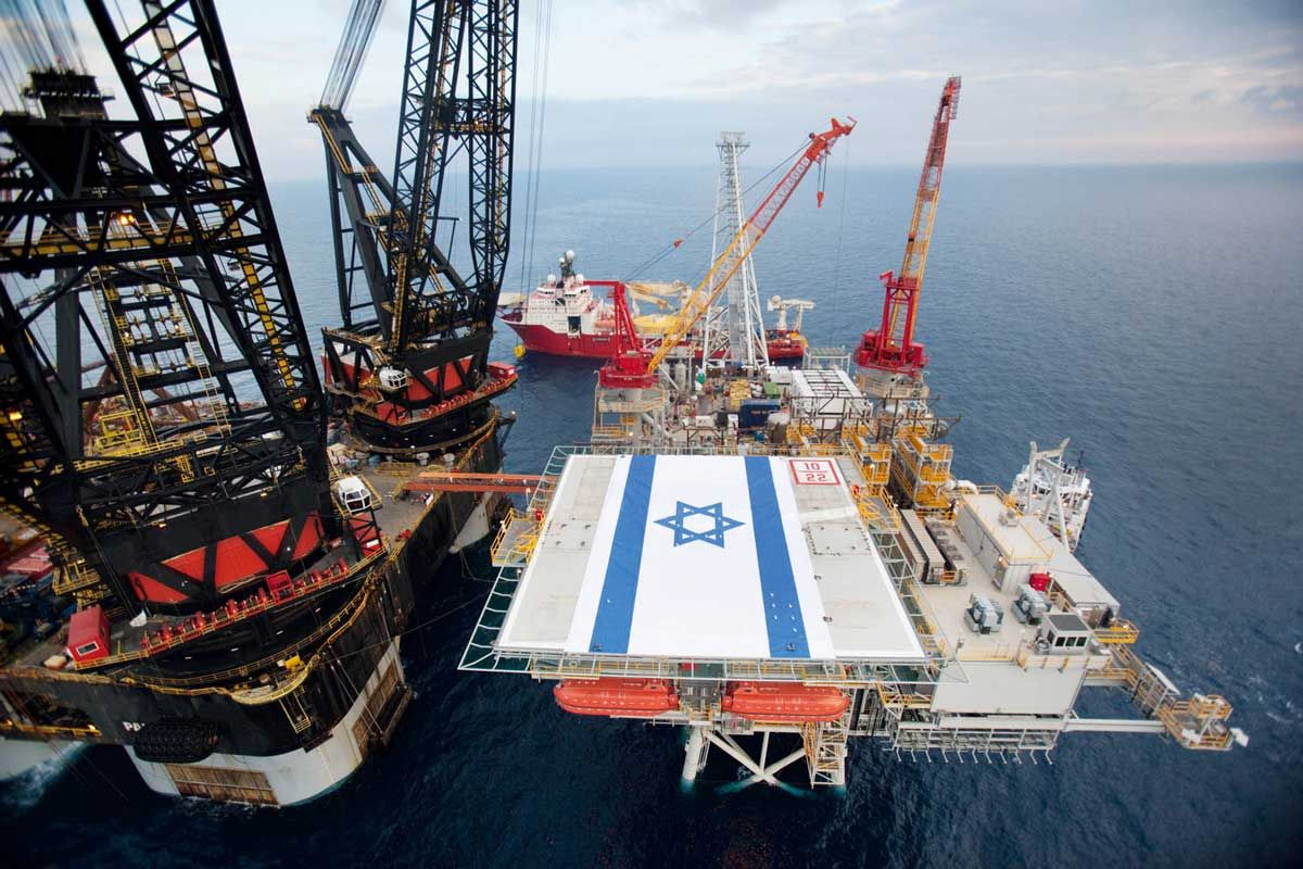 Israel plans to occupy Mediterranean Sea