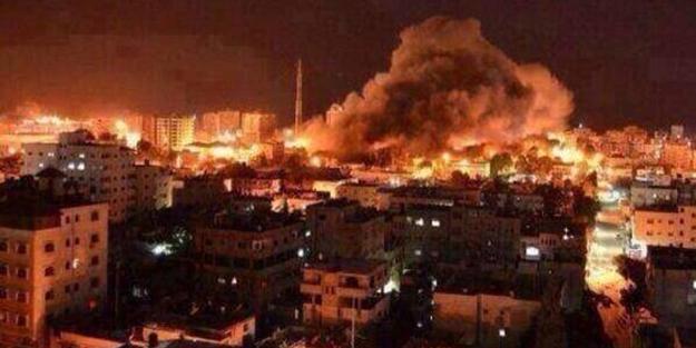 Israeli regime bombs Gaza for 10 consecutive days
