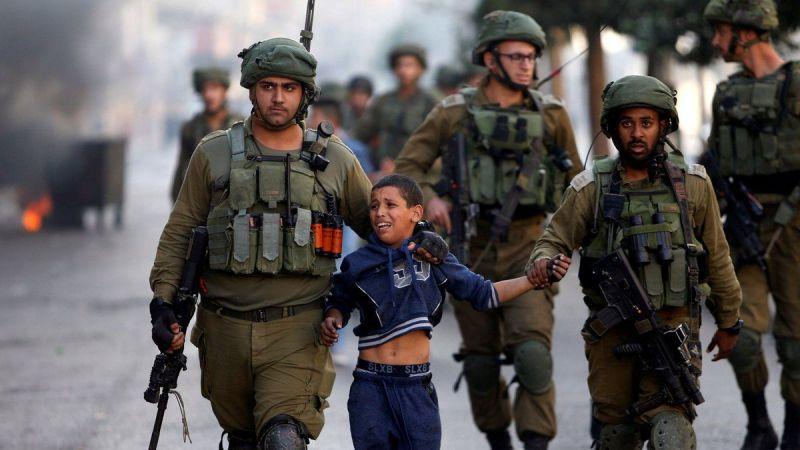Israeli regime detains 230 Palestinian children in 2021