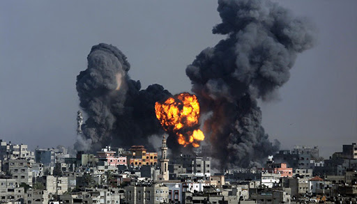 Israeli regime's army bombs two sites in Gaza