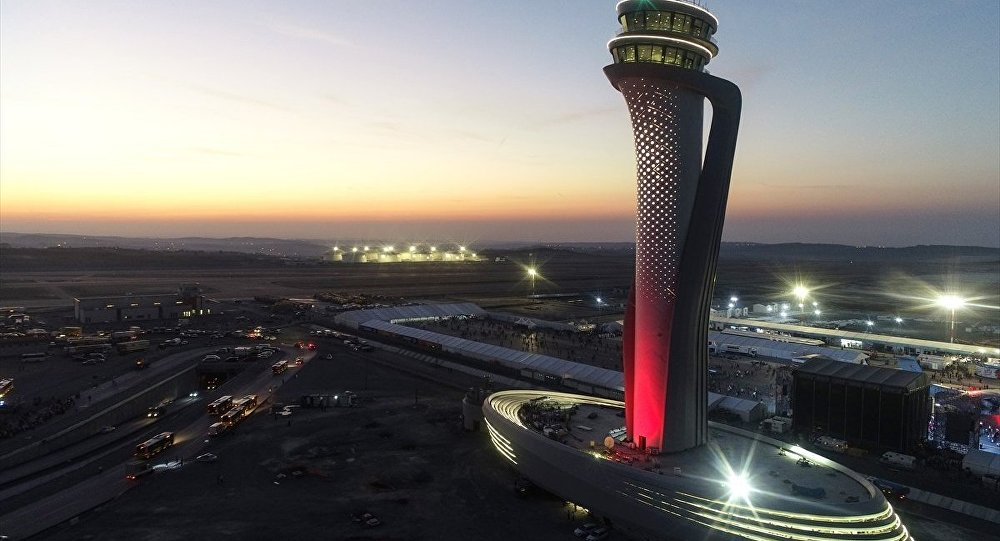 Istanbul Airport officially opened