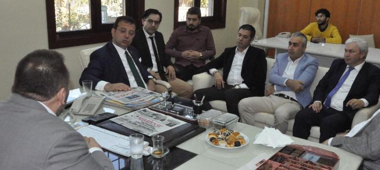 """İstanbul mayor İmamoğlu: """"Milli Gazetes mission is inestimable"""""""