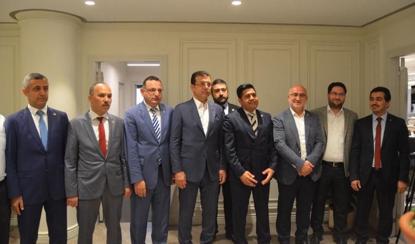 Istanbul mayor Imamoglu visits Felicity Party