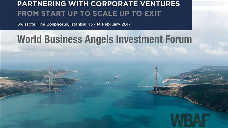 Istanbul to host World Business Angels Investment Forum 2017