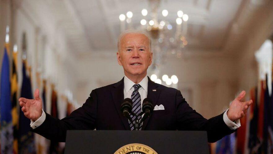 Joe Biden updating the invasion