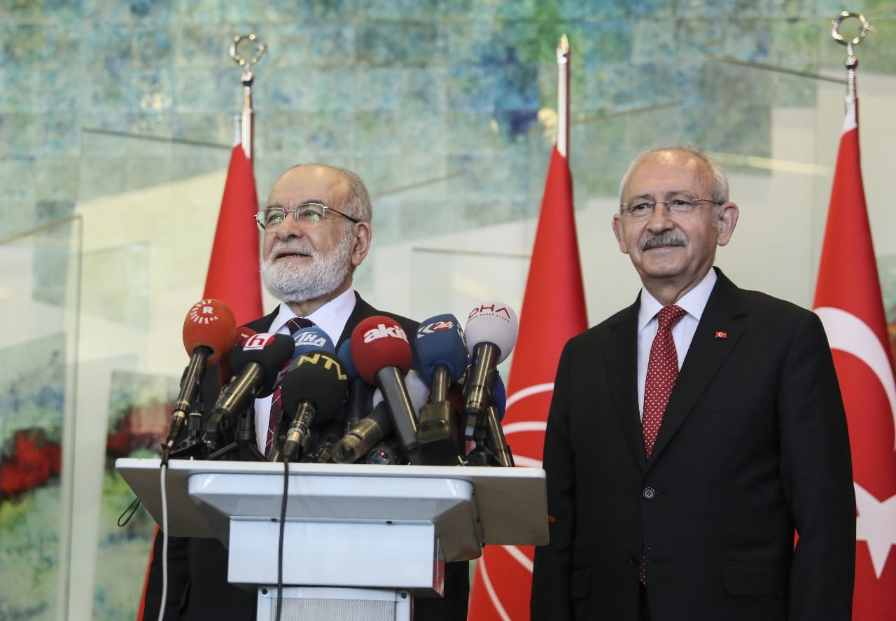 Joint press conference after Karamollaoğlu, Kılıçdaroğlu meeting