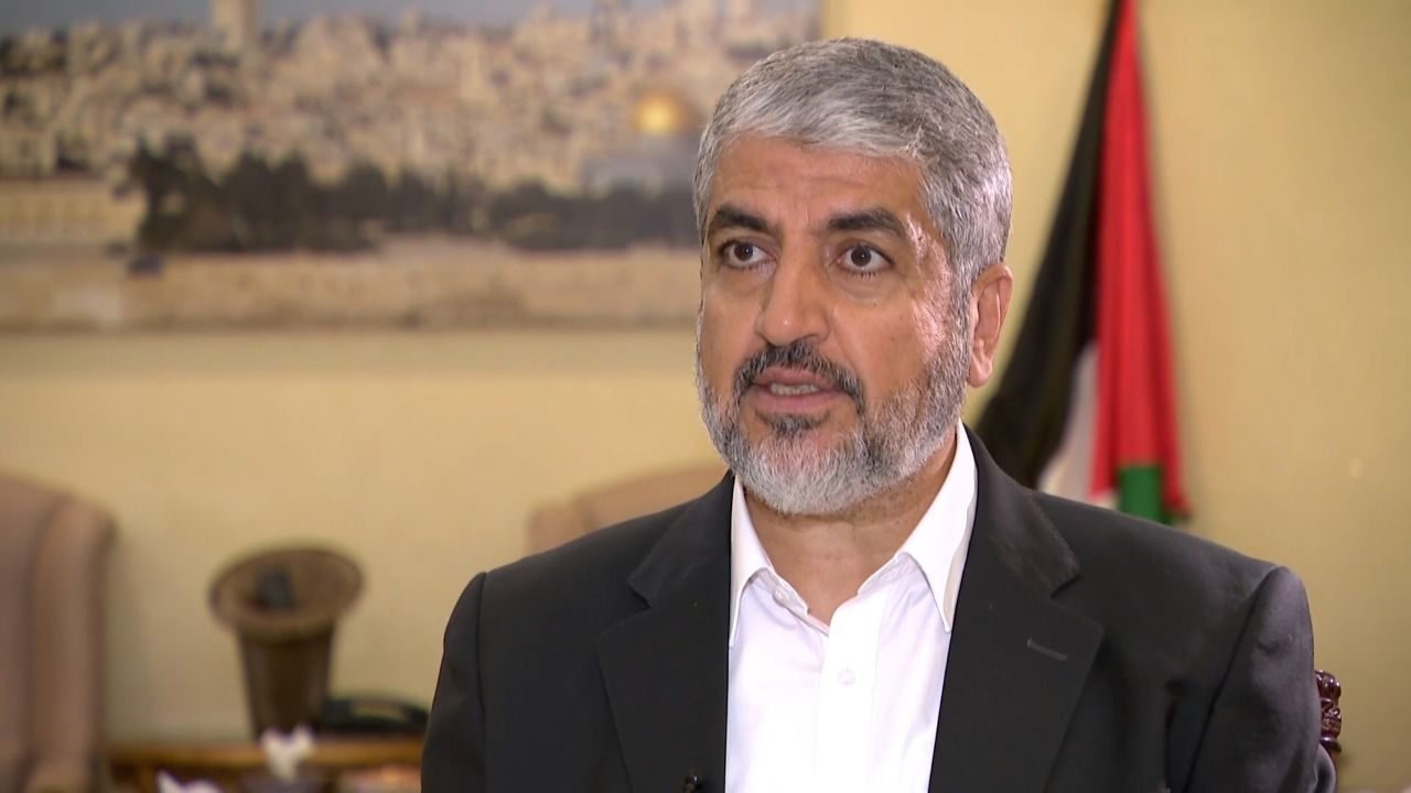 July 15 statement from former Hamas chief Khalid Mashal