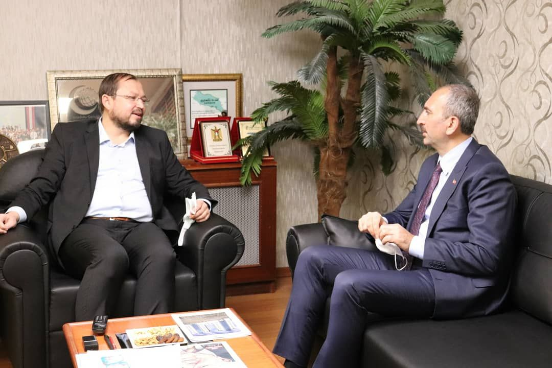 Justice Minister Abdulhamit Gül visits Anatolian Youth Association