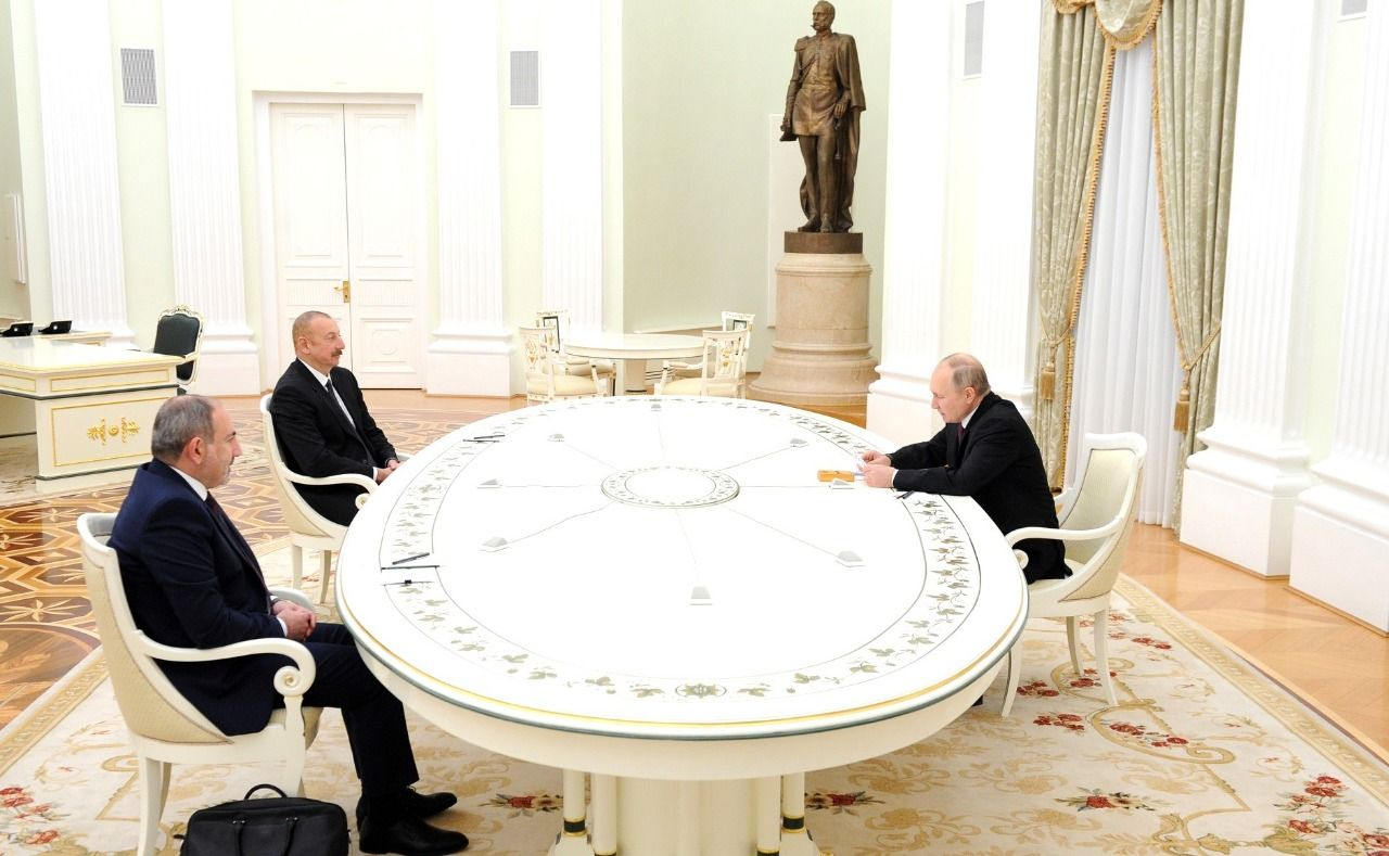 Karabakh at Putins table