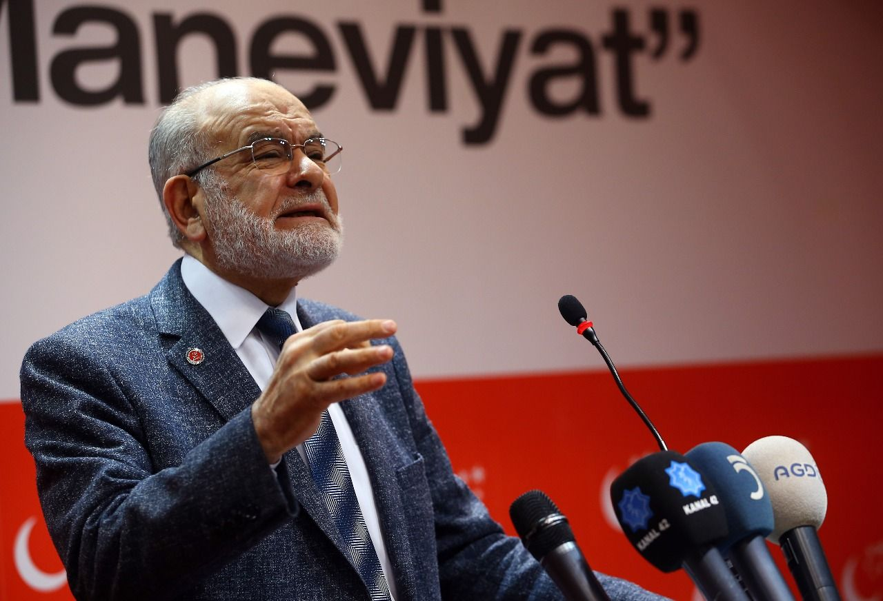 Karamollaoğlu announced his partys report on education