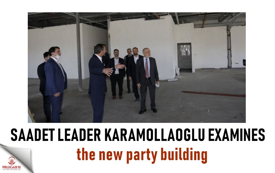Karamollaoğlu examines the new party building