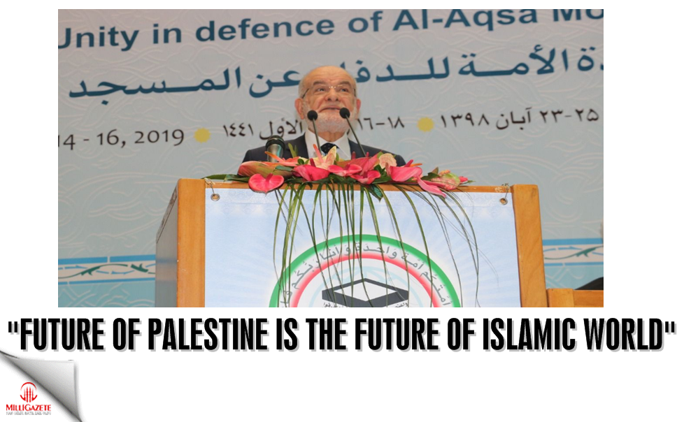 "Karamollaoğlu: ""Future of Palestine is the future of Islamic world"""