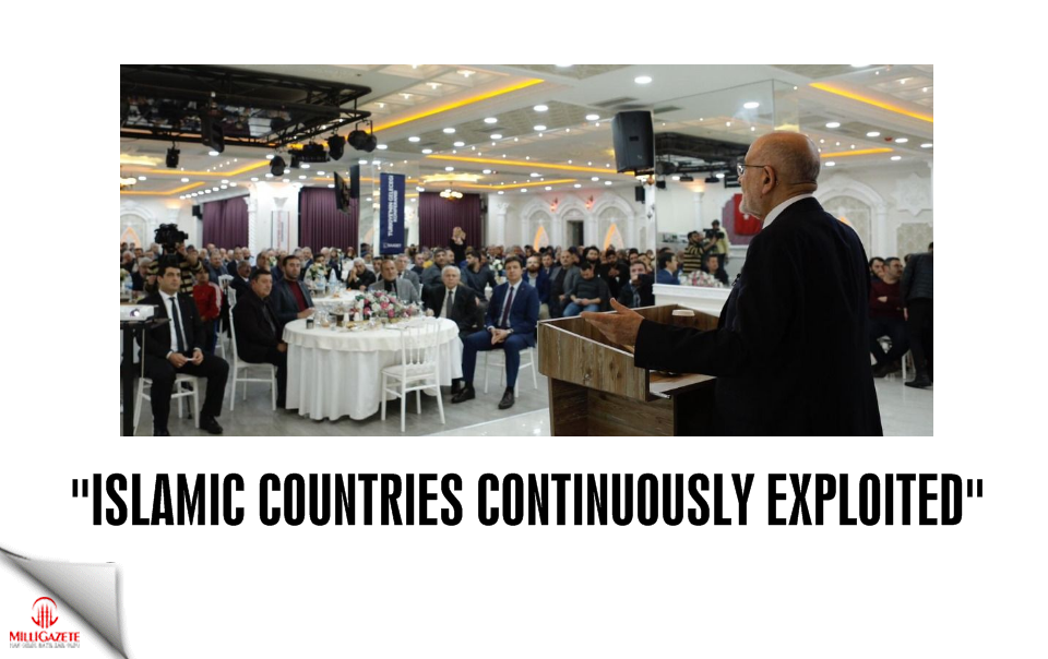 "Karamollaoğlu: ""Islamic countries continuously exploited"""