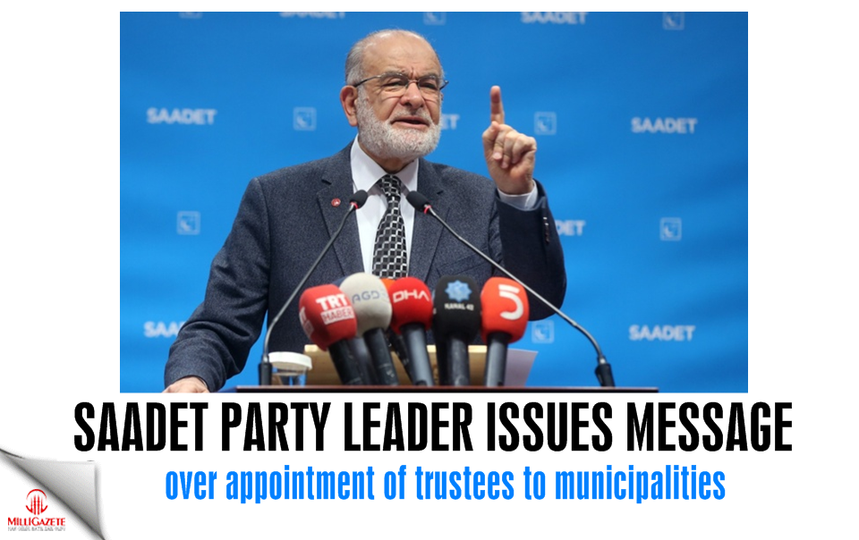 Karamollaoğlu issues message over appointment of trustees to municipalities