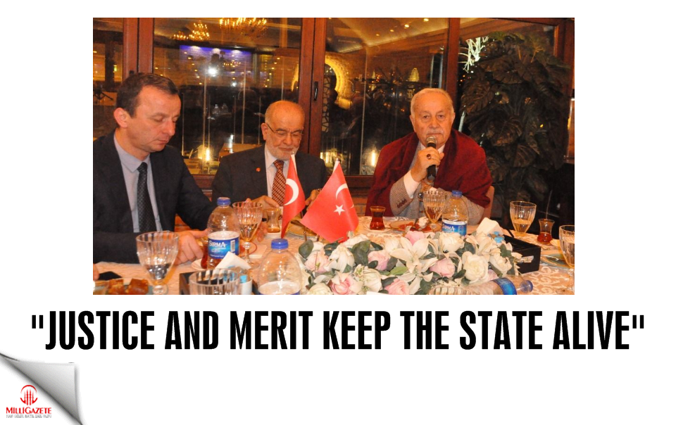 Karamollaoğlu: Justice and merit keep the state alive