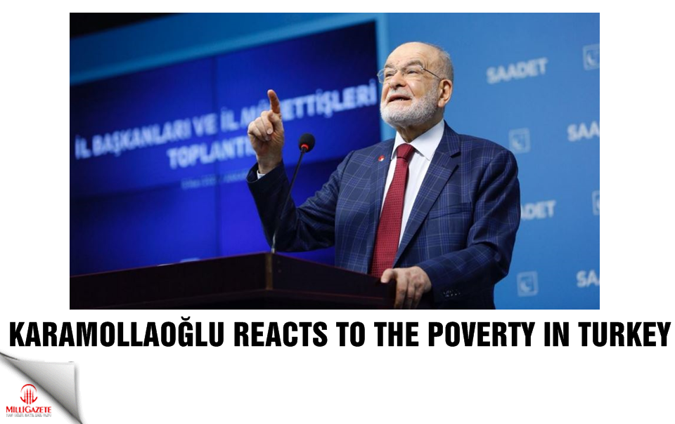Karamollaoğlu reacts poverty in Turkey