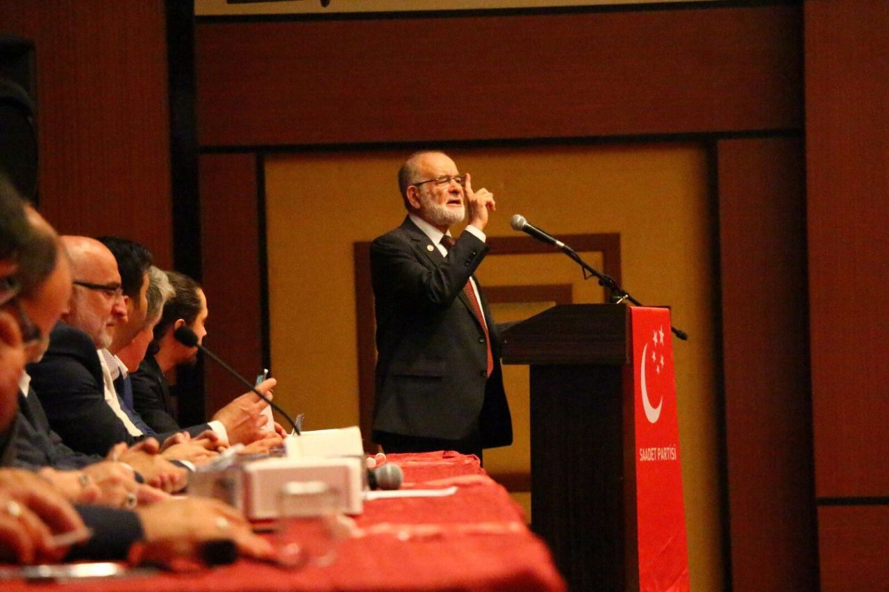 """Karamollaoğlu: """"State of Emergency is being extended for AK Party"""""""