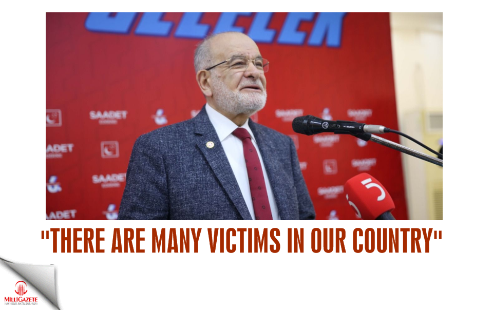 "Karamollaoğlu: ""There are many victims in our country"""