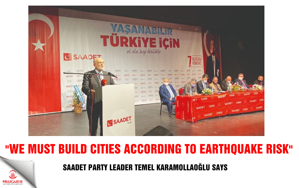 "Karamollaoğlu: ""We must build cities according to earthquake risk"""