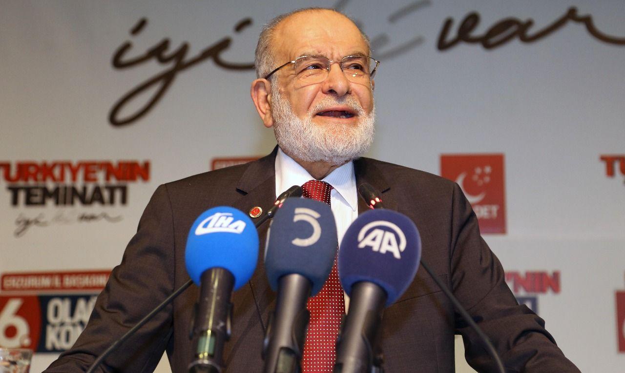 Karamollaoğlus reaction to the attack on Syria: