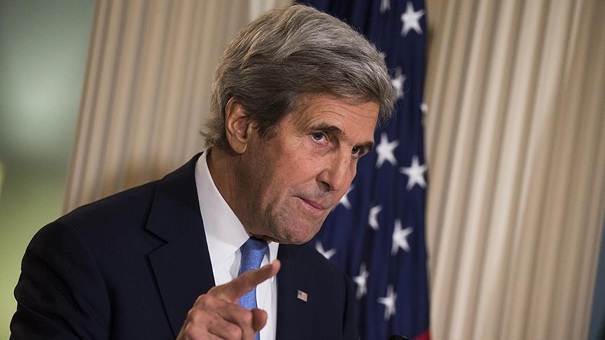 Kerry calls Trump's EU comments 'inappropriate'