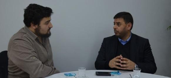 Khaled Zabarka, the lawyer of Sheikh Raed Salah, spoke to Milli Gazete