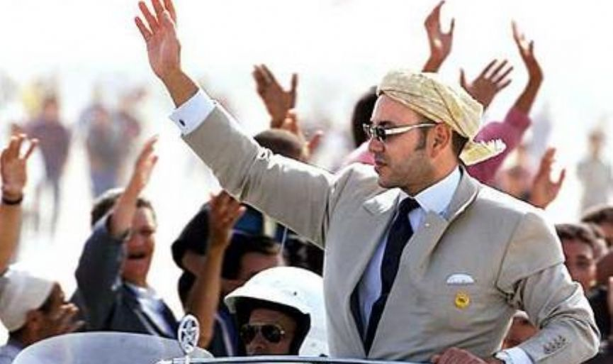 King of Morocco VI. Muhammad pleases Jews