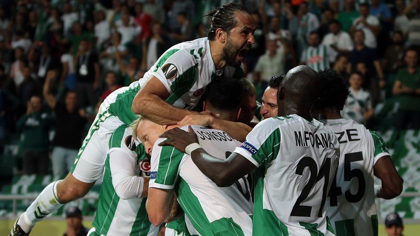 Konyaspor gets first win in UEFA Europa League