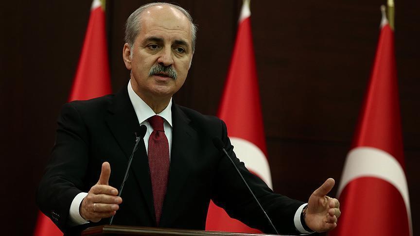 Kurtulmus calls HDP detentions 'constitutional'