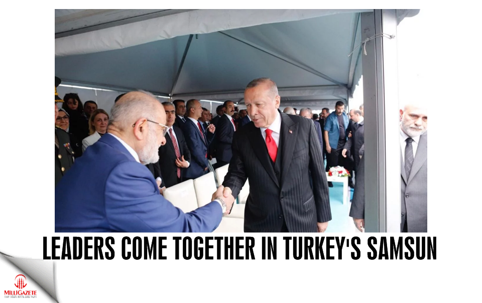 Leaders come together in Turkeys Samsun