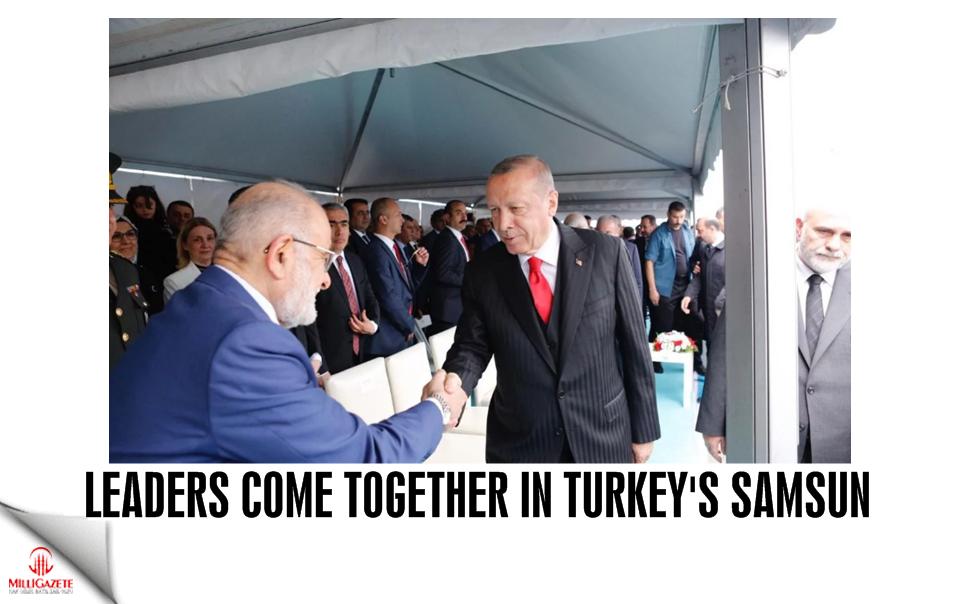 Leaders come together in Turkeys Samsun