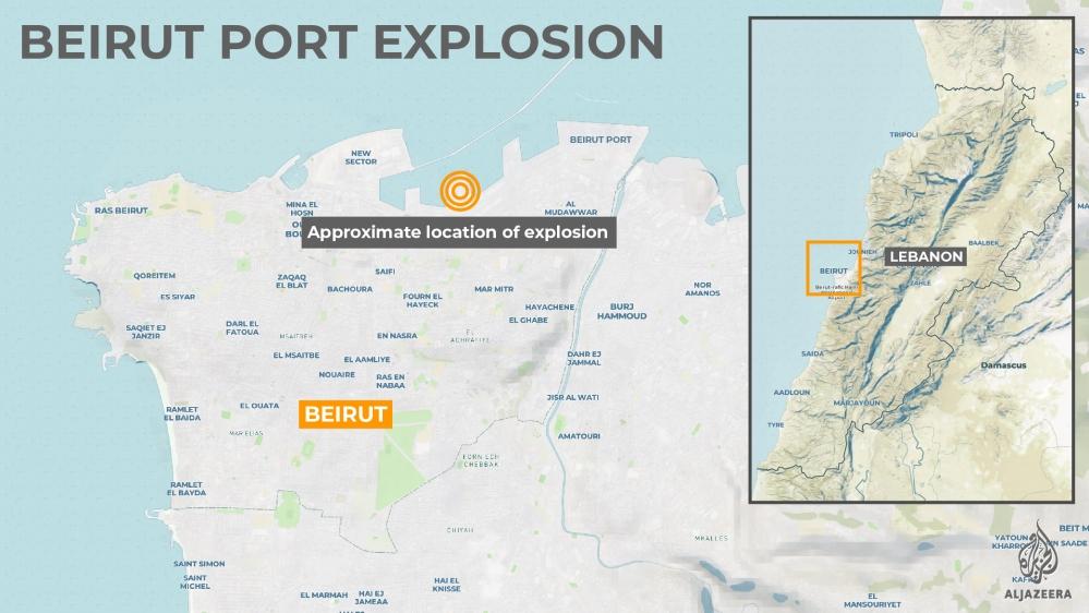 Lebanon orders house arrest of officials over Beirut blast
