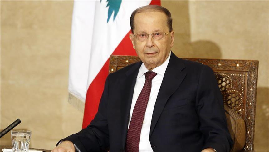 Lebanon president arrives in Iraq for talks