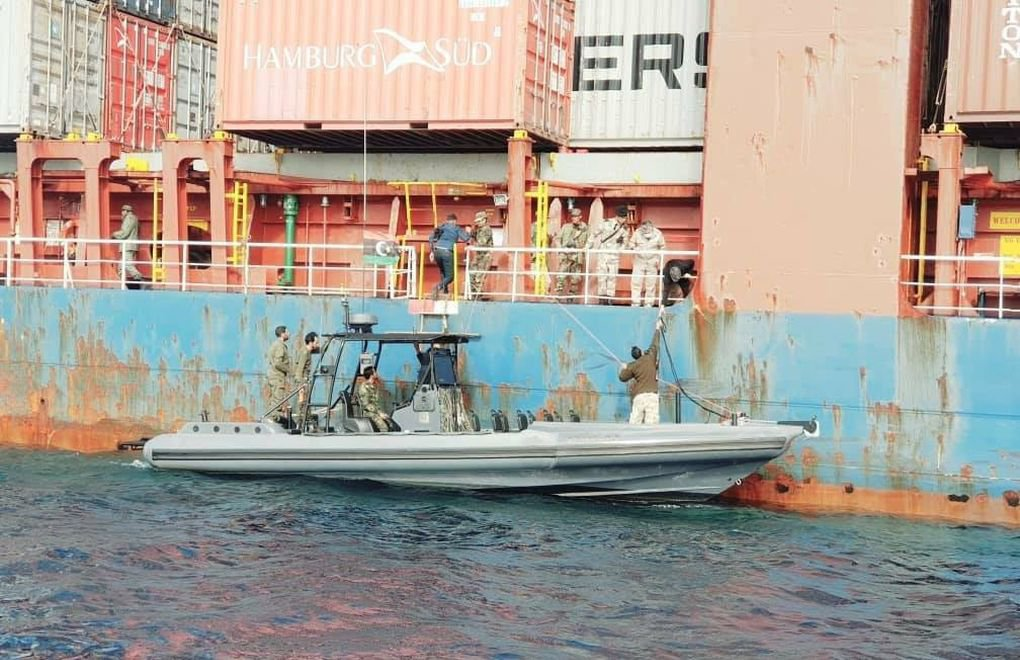 Libya-bound Turkish cargo vessel intercepted by Haftar forces