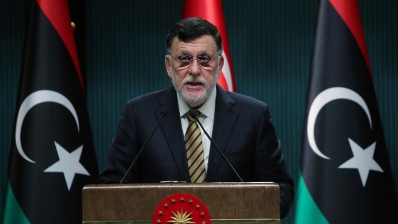 Libyan Prime Minister Sarraj to resign soon