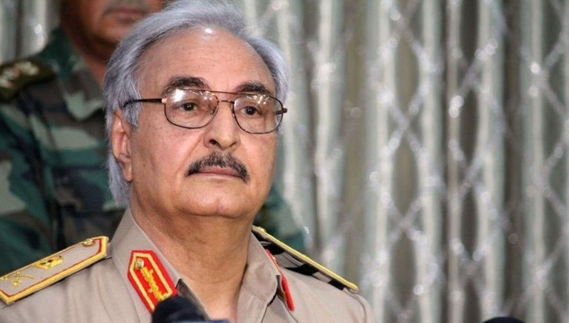 Libyas Haftar arrives in Athens for official talks ahead of Berlin conference