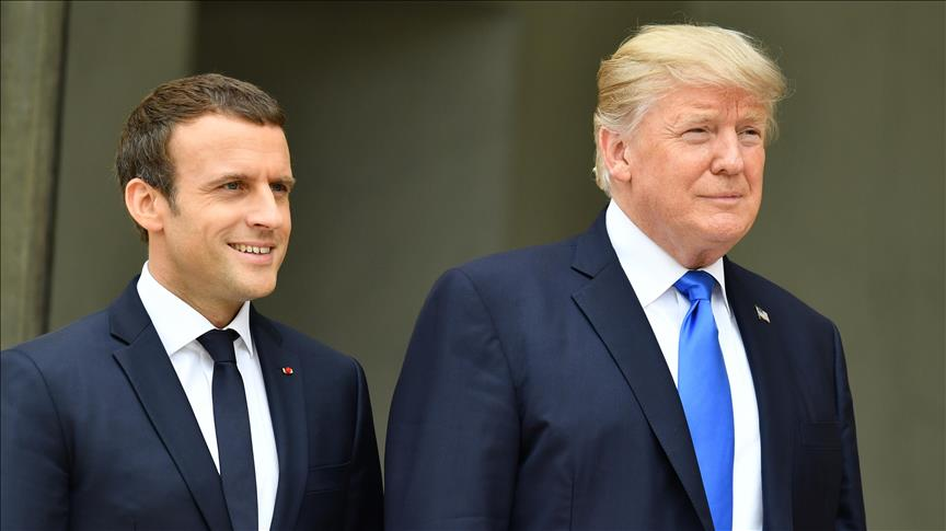Macron, Trump push immediate Syria cease-fire execution