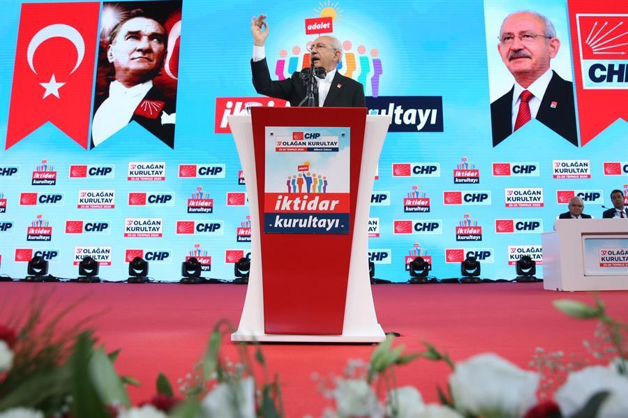 Main opposition Republican Peoples Party re-elects Kılıçdaroğlu as chairman