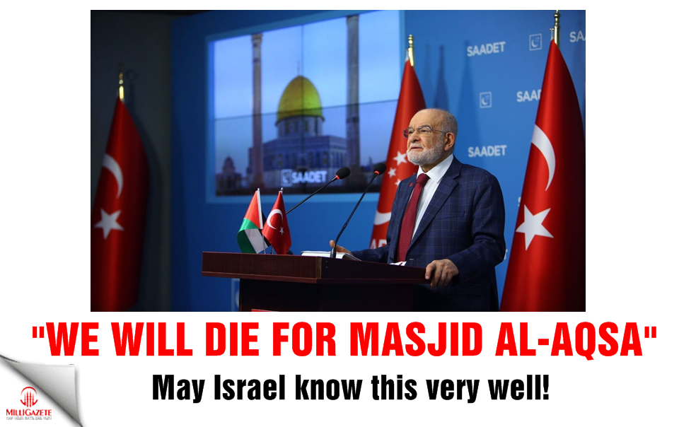 """May Israel know this very well: """"We will die for Masjid al-Aqsa"""""""