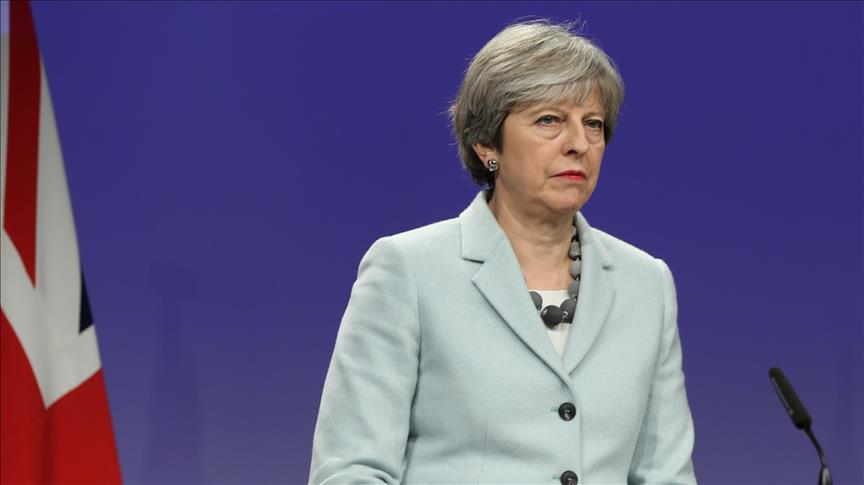 May responds to Russia's expulsion of UK diplomats